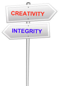 creativity-integrity