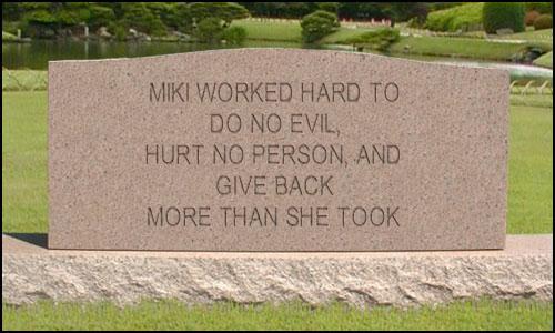 Mikis-tombstone