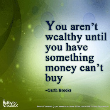 not wealthy-cant buy